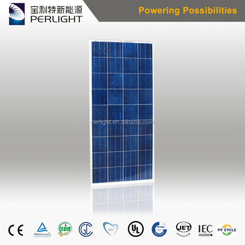 Perlight solar module 150 watt 12 volts polycrystalline solar panel