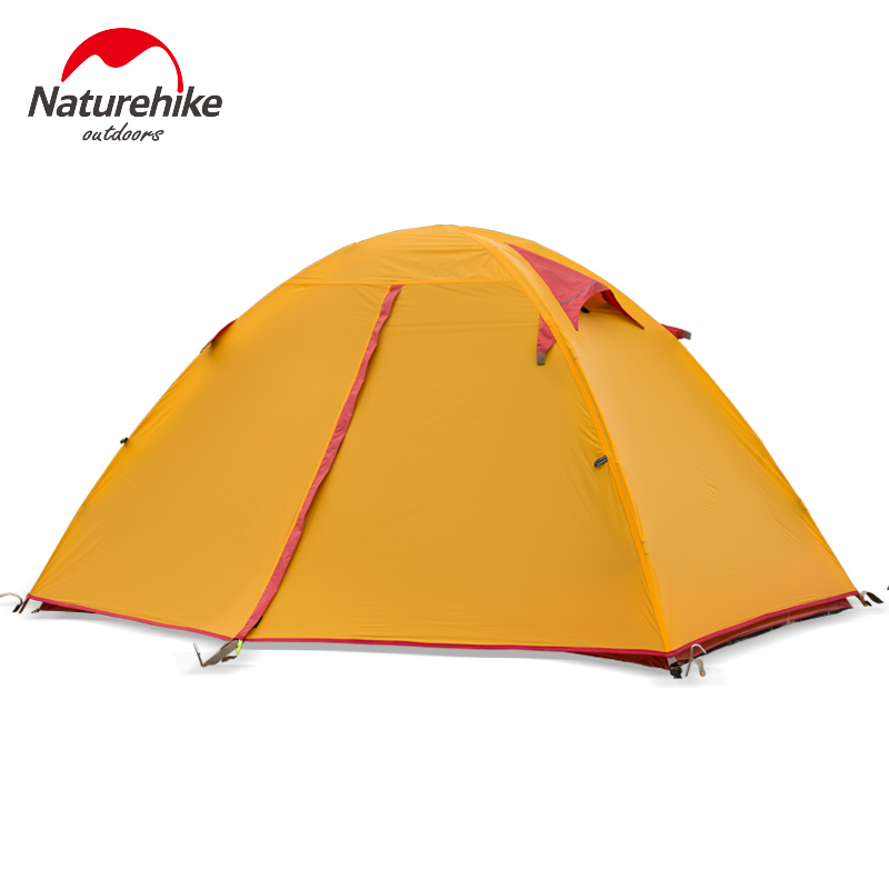 Naturehike Ultra light silicone 20D tent double weatherproof aluminum pole camping equipment tent