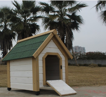 Custom Indoor Cheap Dog Cage Wooden Dog House/metal roof dog houses