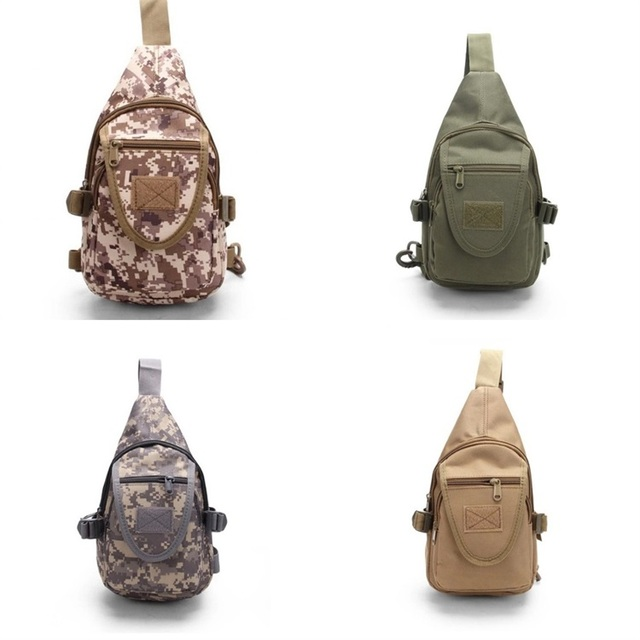 Outdoor Riding Crossbody Backpack Men Women Camouflage Chest Bag