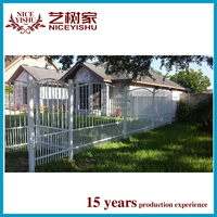 used Customized new design cheap wrought iron fence mesh / ornamental alibaba cheap modern aluminum fencing forhomes garden