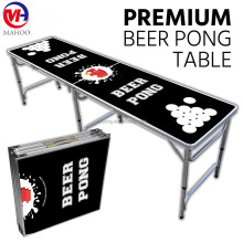 Aluminum Custom Folding Beer Pong Table 8 Foot