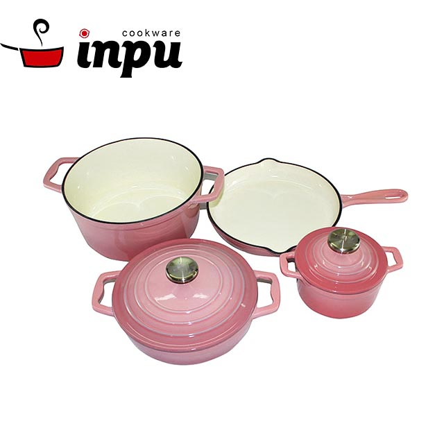 Best Selling Porcelain Enamel Coated Cast Iron Cookware