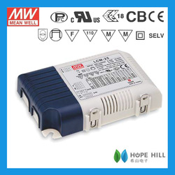 Original Meanwell 25W Multiple-Stage Output Current LED Power Supply LCM-25DA-600 Mean Well Dimming Driver