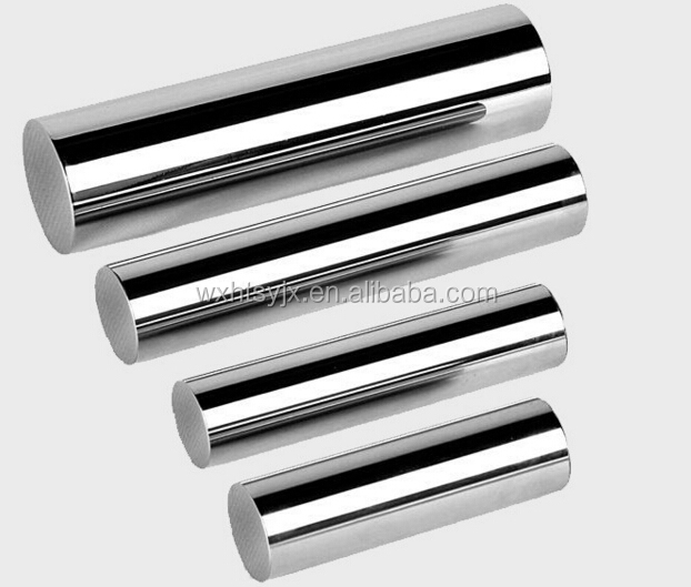 induction hardened chrome steel bar and honed tubes