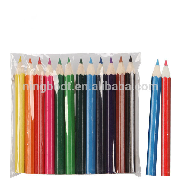 Mini colorful drawing pencils for kids' Christmas gifts