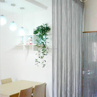 Best Selling Silver White String wall decoration Curtains