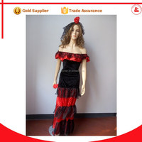 sexy gypsy girl dress skirts flamenco dress adult gypsy dance costumes for women