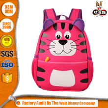 BSCI& ISO cute kids zoo pack little kid backpack for school