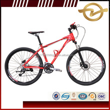 Chinese 26'' Aluminum Alloy Suspension MTB Disc brake Bicycle Mountain Bike Prices in China factory