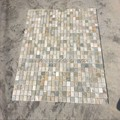 interior yellow slate stone mosaic tile