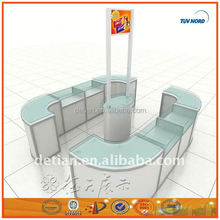 portable slatwall display stand Exhibition Equipment for Tradeshow