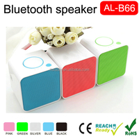 (Cheap) 2016 Hot Sale cube bluetooth speaker active mini speaker wireless speaker