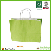 laminated paper bags with logo,colorful paper packaging bag,kraft paper bag for cloth