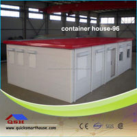 container house with lifting device