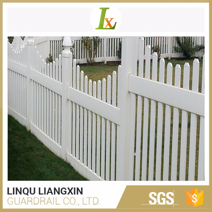 Various Colors Available Domestic Ornamental Small Garden Fence Factory