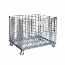 Custom warehouse tire metal storage cage