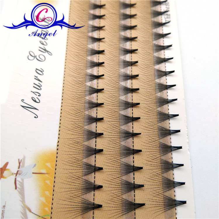 3Rows in one tray for 0.07mm Russian Volume Lashes