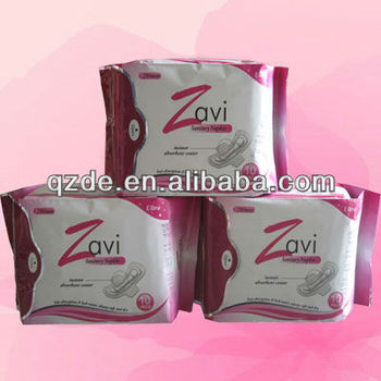Ultra-thin 280mm Women Sanitary Napkin for Lady pad, Sanitary Towel, Breathable & Soft Cotton