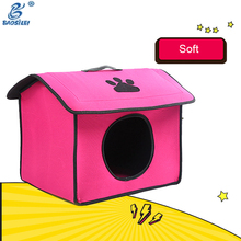 Super Luxury Mutilcolor Acrylic Pet House Shaped Donation Box Stainless Steel Dog House