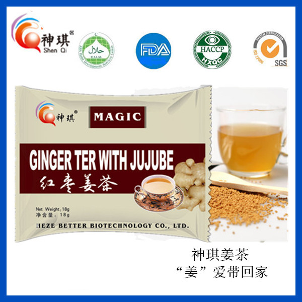 Chinese Red Date Ginger Tea