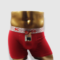 Wholesale custom solid color men boxers and underwear