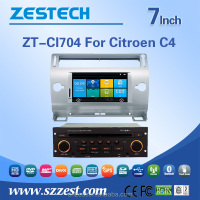 auto radio car dvd gps navigation Car dvd for citroen c4 car multimedia player with bluetooth MP3 MP4 3G