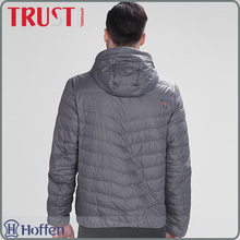 Winter products foldable ultra light contrast color mens down jacket