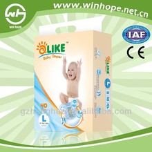 Comfortable breathable lady nappies