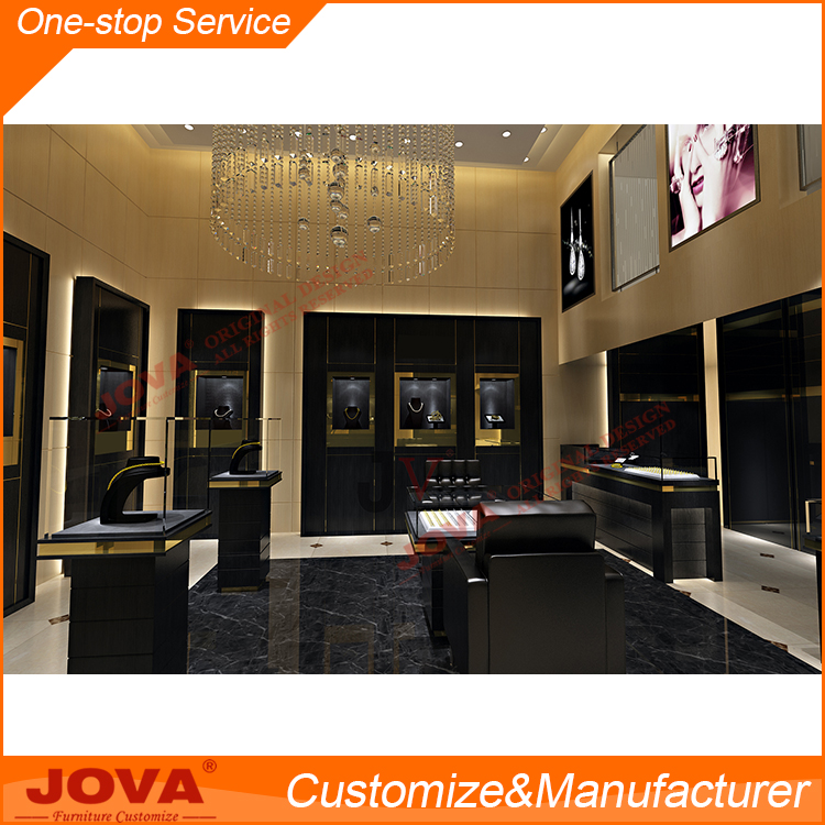 jewellery showroom counter/cabinet design jewelry shop decoration pictures