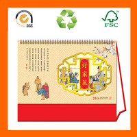 Chinese Child Desk Calendar In Different Shape 2015 Calendar