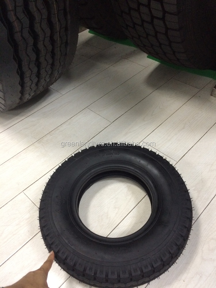 top quality three wheeler tricycle tyre 4.00-8 8PR 400KG heavy duty