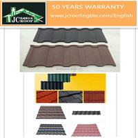 shingles roof/color stone coated metal wave roof tile with best price