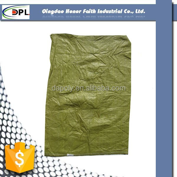pp woven bag grey color resuable cement bag 50kg