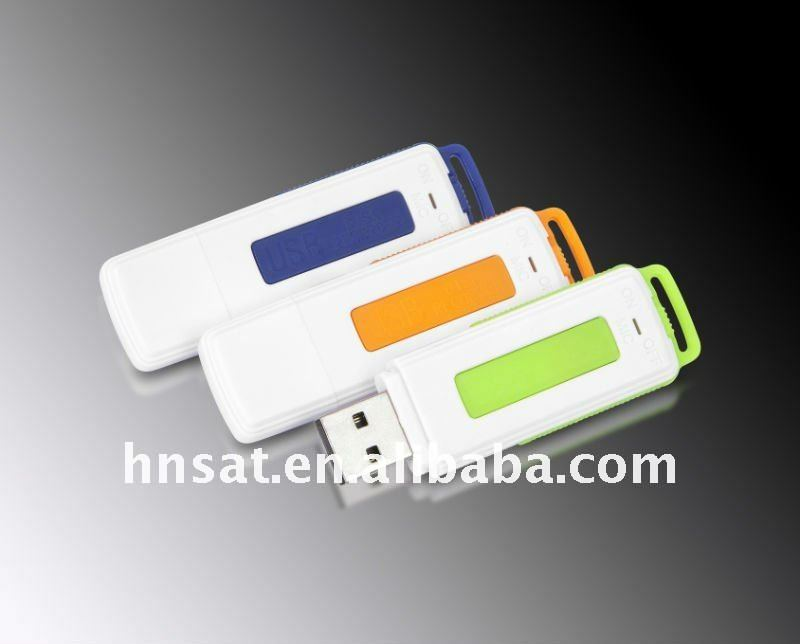 flash disk and voice recording funtion 128kbps