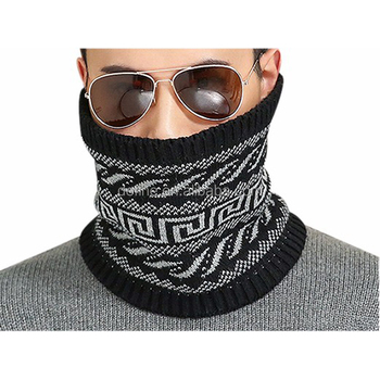 Unisex fashion Wholesale custom outdoor sport winter cycling tube knitted neck warmer