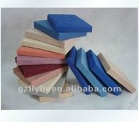 easy installation fabric clothing acoustic panel