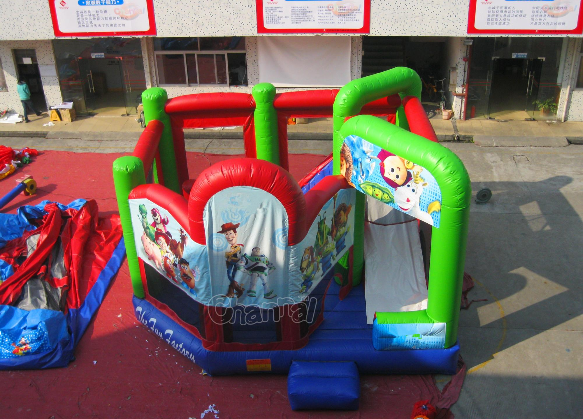 5 in 1 inflatable bouncer combo inflatable bouncer jumping castle for sale