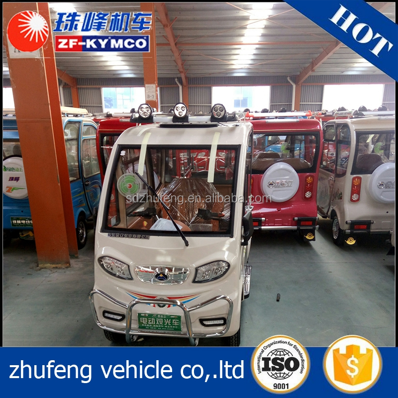 Eco-friendly Passenger 4 door smart gasoline handicap electric car