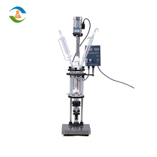 Mini Laboratory Jacketed Chemical Glass Reactor