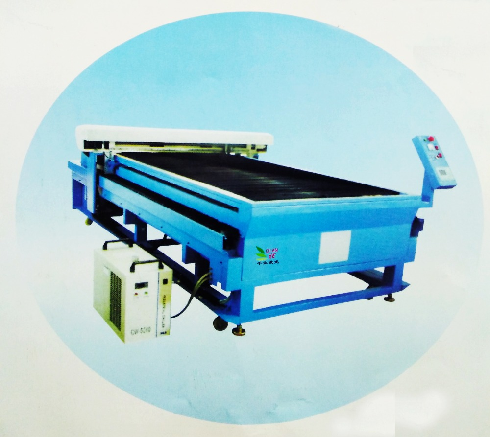 Top quality CNC laser cutting machine Fabric, leather, paper, wood products, plexiglass, rubber, plastics, synthetic materials