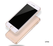 SUD Hot Sale Silicone Clear Soft TPU 360 Degree Full Edge Protective Phone Case Cover For iPhone 5