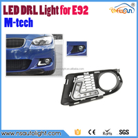 12w high power dimmable E4 CE RoHs aprroved E92 led drl daytime running light