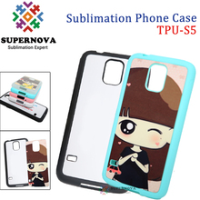 Printable TPU Mobile Phone Case, Sublimated Cases for Samsung Glalaxy S5