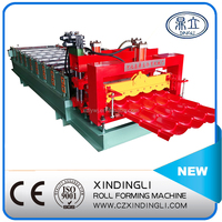 XDL Color Steel Roof Glazed Tile Forming Machine/Wave Tile Roll Forming Machine