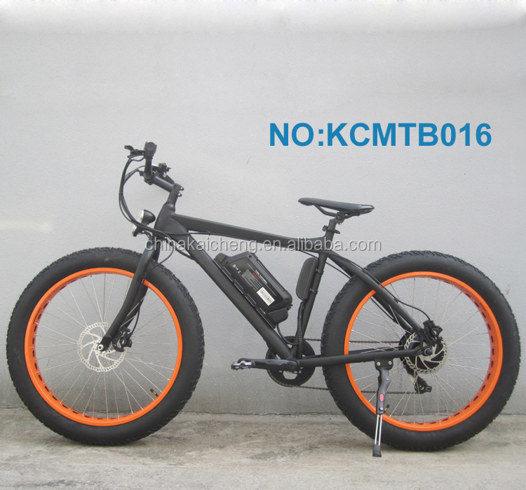 LOHAS/OEM 2016 swiss ebike 500w wide tyre el bike hidden battery electric bike 10 speed 26x4'' tire TGS suspension