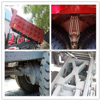 Manual Transmission Sinotruk HOWO Diesel Tipper Truck for Philippines