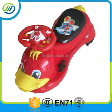 Popular And Beautiful Plastic Baby Swing Car