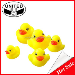 Customized floating bath vinyl toys vinyl duck toy