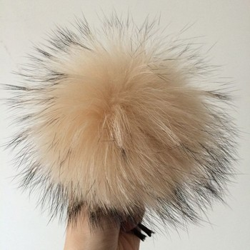 12cm raccoon fur Ball For Cellphone/Wholesale And Retail